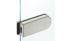 Hafele - Сполучний корпус сріблястий з кришками з алюмінію - 981.01.911