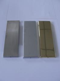 Hafele - Накладка для петлі 1040 золотий колір поліров. - 981.03.01O