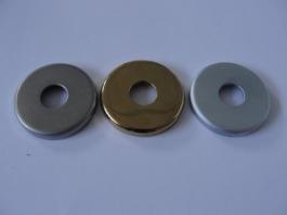 Hafele - Накладка для петель з італійською планкою корпусу колір хромат. - 981.04.01O