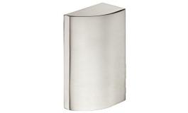 Hafele - Відповідна частина до замка для скляних дверей, латунь нікельована матова - 981.14.756