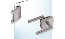Hafele - Комплект замка з 3-х частин UV нержавіюча сталь матова - 981.16.030