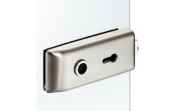 Hafele - Замок PC для скляних дверей алюміній хромований полірований - 981.16.752