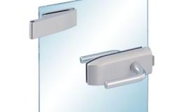 Hafele - Комплект STUDIO GALA для замка UV алюмінієвий колір: срібний 2-і частини - 981.25.041