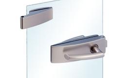 Hafele - Комплект для замку WC алюм.,срібляст. 2-част. - 981.25.601