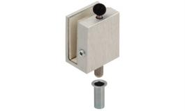 Hafele - Рігель закріплюючий для скляних дверей товщина скла 8 мм - 981.27.901