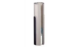 Hafele - Фурнітура поворотна BEYOND коротка для скла 10мм алюмінієва колір: нержавіюча сталь - 981.29.000