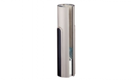 Hafele - Фурнітура поворотна BEYOND коротка для скла 12 мм алюмінієва колір: нержавіюча сталь - 981.29.010