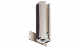 Hafele - Відповідна частина петлі для кріплення в стіні 12 мм, алюміній, колір: нержавіюча сталь - 981.29.030