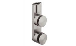 Hafele - Кріплення верхнє для дверей, що відкриваються в обидві сторони нержавіюч.ст. мат. - 981.30.030
