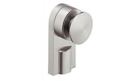 Hafele - Тримач для скла, товщина скла 8-12мм, нержавіюча сталь матова - 981.30.090