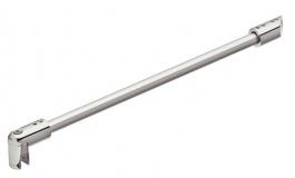 Hafele - Штанга підтримуюча алюмінієва хромована полірована 345мм - 981.39.022