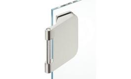 Hafele - Комплект петель алюміній, колір: срібний (3 частини) - 981.49.006