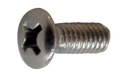 Hafele - Шуруп кріпильний для перил нержавіюча сталь матова  M4x10 мм 20 шт. - 982.00.923