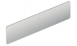 Hafele - Пластина нержавіюча сталь матова 400 мм (кріплення за допомогою прикручування) - 987.28.120