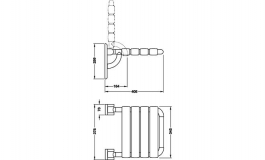 Hafele - Сидіння складне, поліамід колір: сірий 97 - 988.78.097